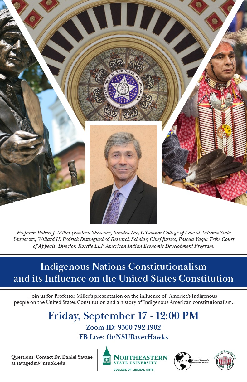 Indigenous Nations Constitutionalism and its Influence on the United States Constitution